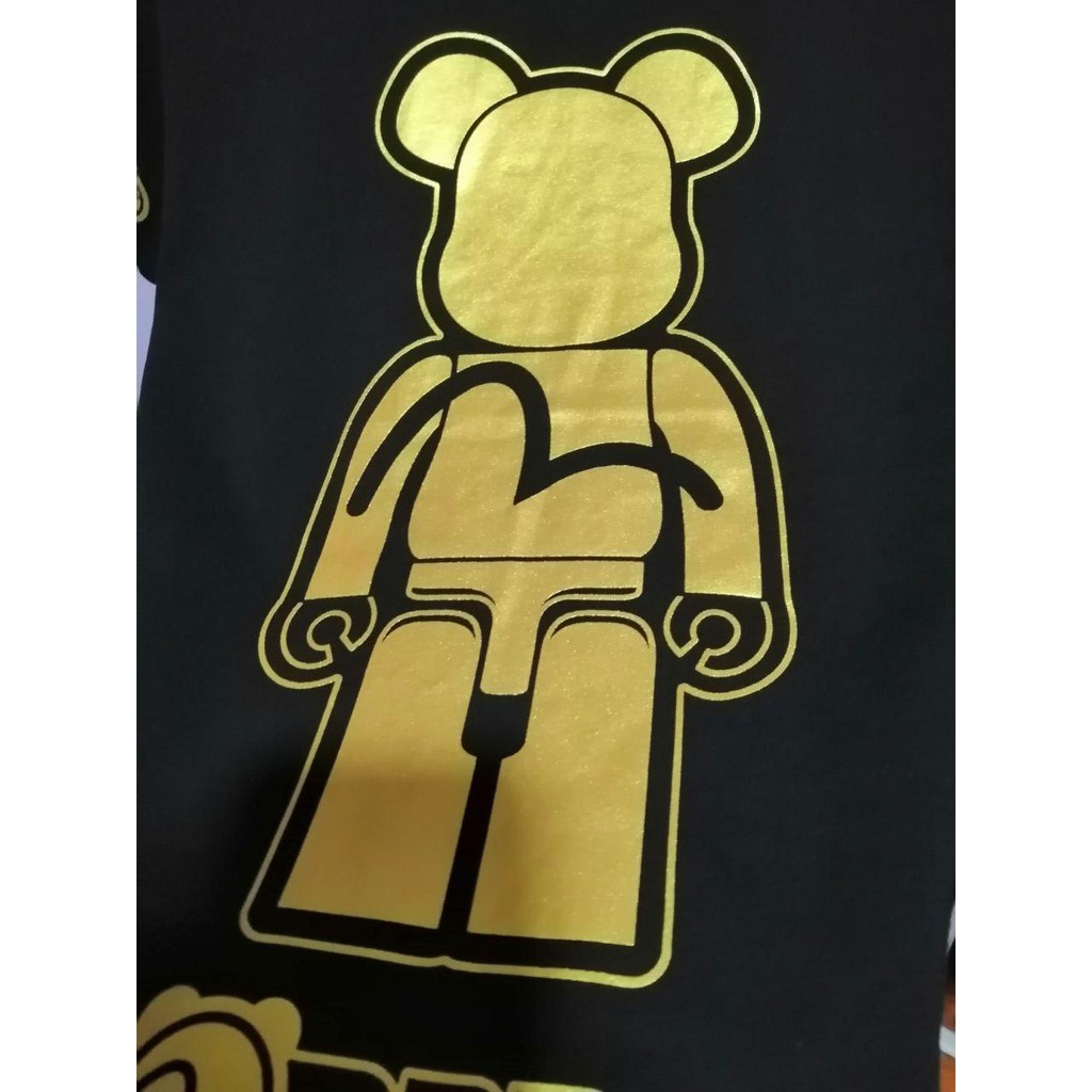 EVISU X BE@RBRICK Logo Short Sleeve T-shirt