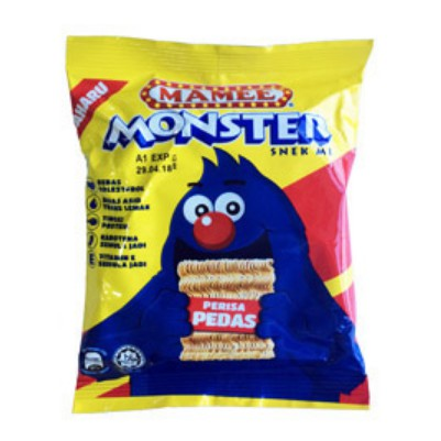 Mamee Monster Family Pack 25G x 8'S