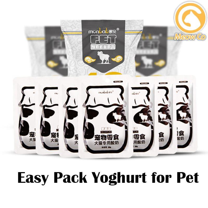 Pet Yoghurt Drink Snack Treat Meal Dog Cat Dog Snack