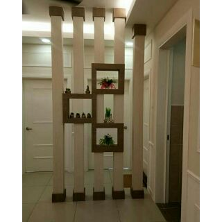 Jm Concept Living Room Modern Display Divider 2 5 Feet Shopee Malaysia