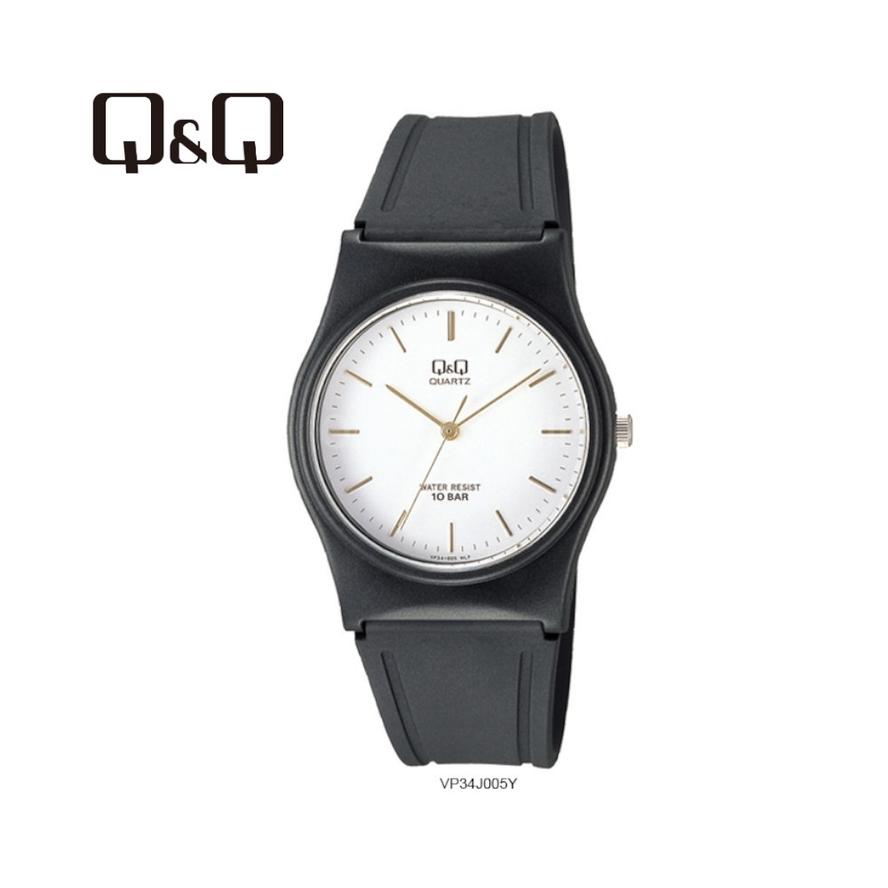 Q&Q VP34J005Y Ladies 33mm Casual Analogue Watch 100m Water Resistance