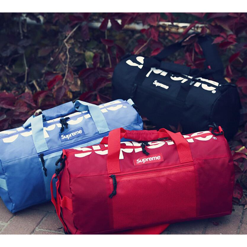 95da209ea47e men 3 colors supreme bag Duffle Bag Travel Gym Bag Handbag