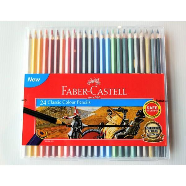 Faber-Castell / Faber Castell Slim Flexi Case Classic Colour Pencil 12 24 36 48