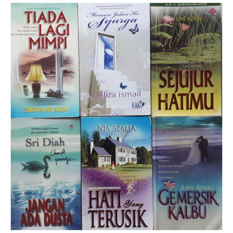 🔥🔥 SALE!!! Novel Preloved / Novel terpakai   (20) 🔥🔥