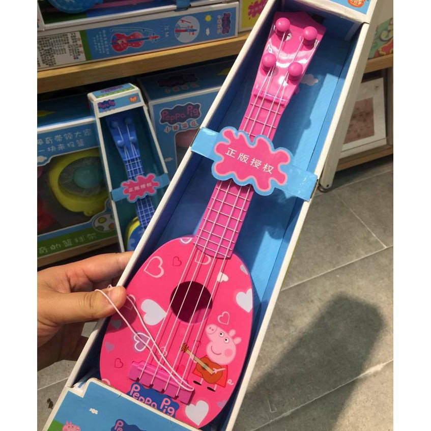 Chase Blue Nickelodeon Paw Patrol My First Electric Instrument Guitar Skye Pink