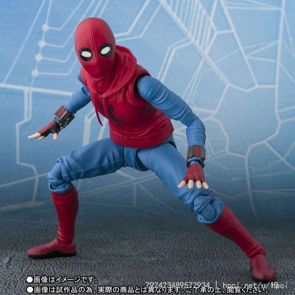 14cm Spider Man Homecoming Spiderman Super Hero Avengers Action Figure Toys Doll With Box