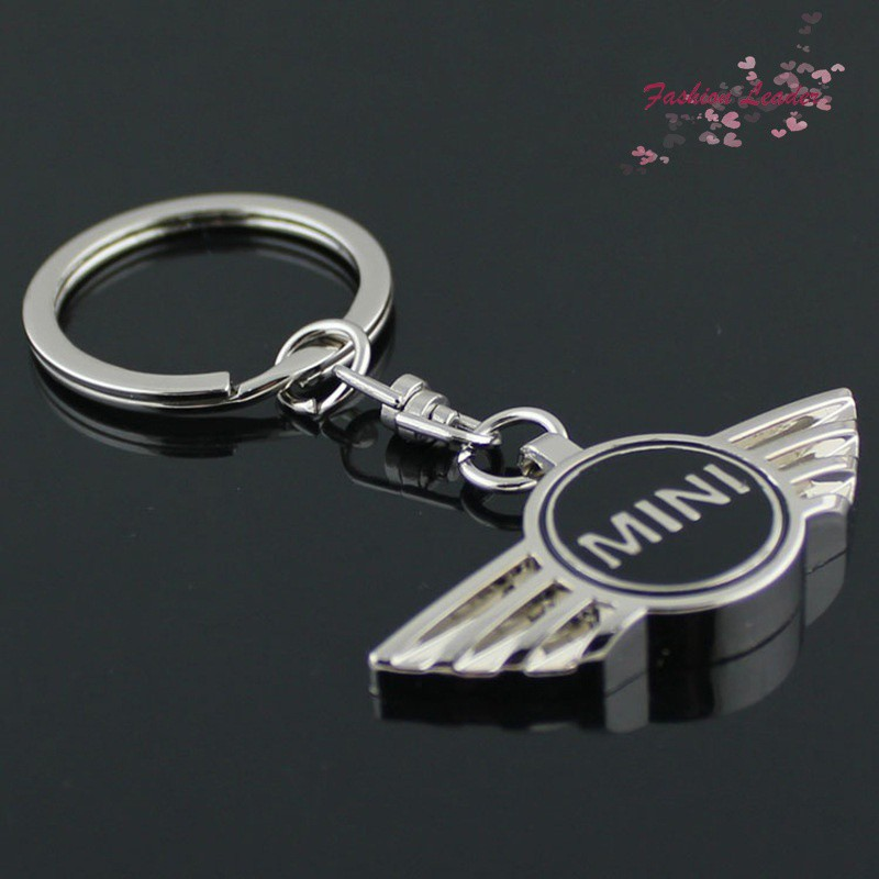 with Box Mini Cooper Metal Wire Cable Keychain