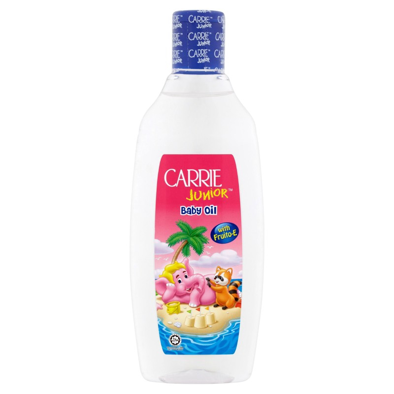 Carrie Junior Baby Oil with Fruito-E (300ml)