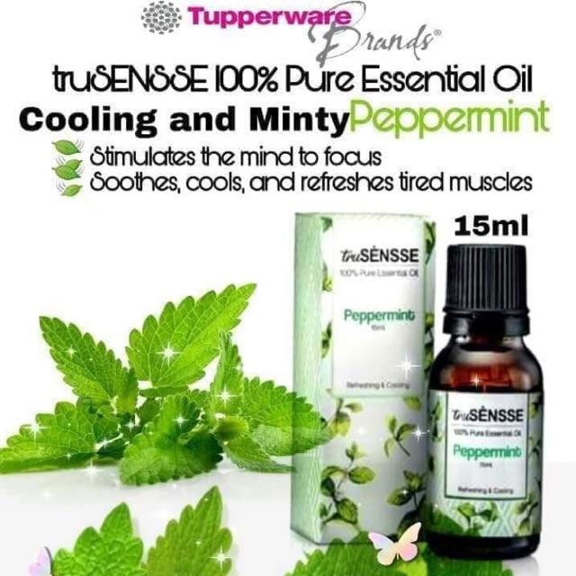 Tupperware truSENSSE 100% Pure Essential Oil- Peppermint