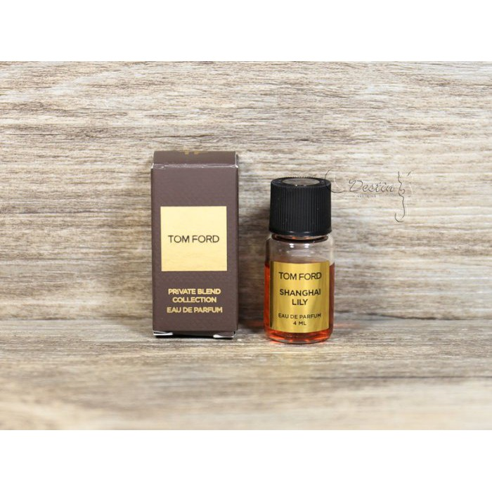 Tom Ford Private Tone Incense Series Sea All In Shanghi Lily Light Essence 4ml Shopee Malaysia