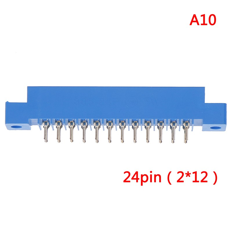 1Pcs 805 Series 3.96mm Pitch PCB Slot Solder Card Edge Connector 8-72 Pin ZJP