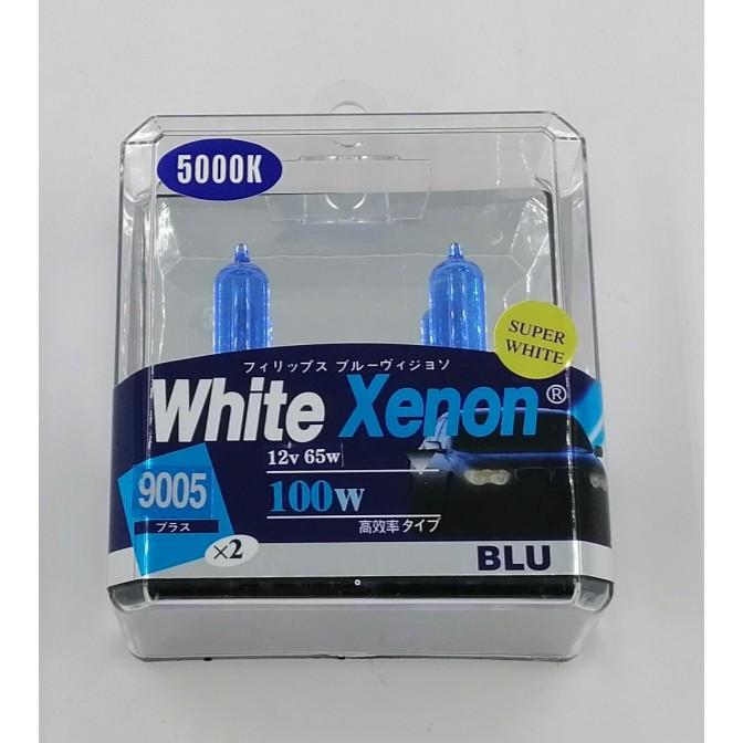 BBL9005WX-9005 12V 55W (80W) 5000K BULB (WHITE XENON)