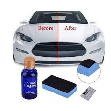 Ceramic Car Coating Kit Anti-Scratch Exterior Care Paint Sealant