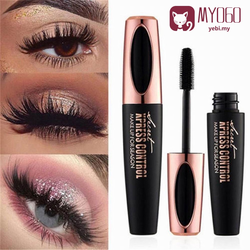 a8432fe0194 MY060 Waterproof Eyelash Extension Black Thick 4D Silk Fiber Lash Mascara |  Shopee Malaysia