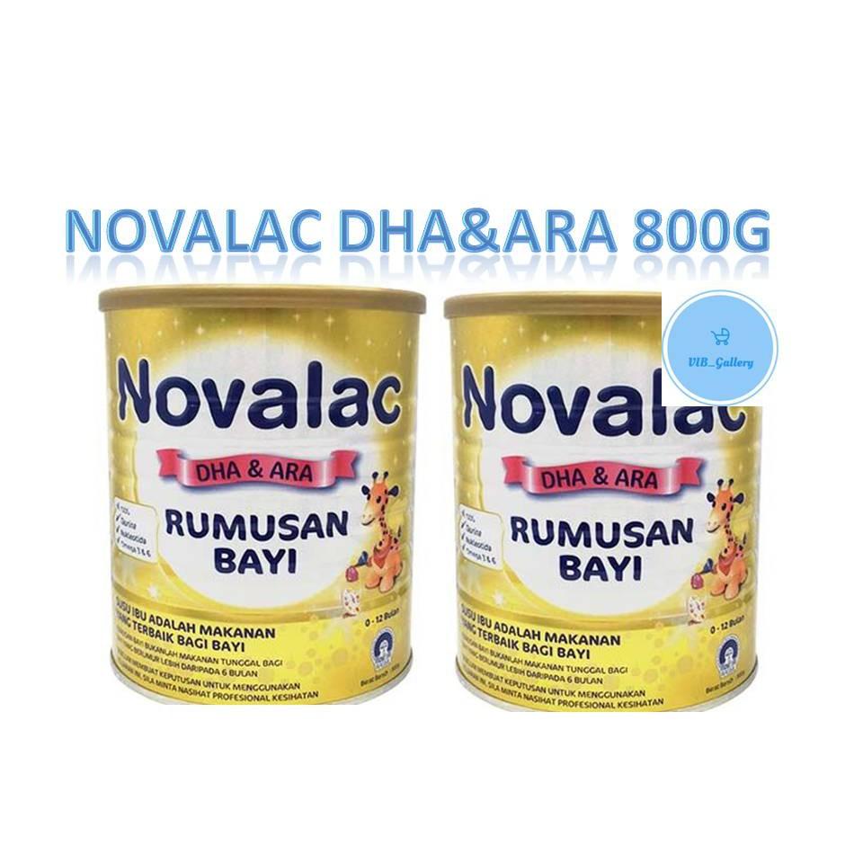 NOVALAC DHA&ARA RUMUSAN BAYI 800G (EXP:2020)