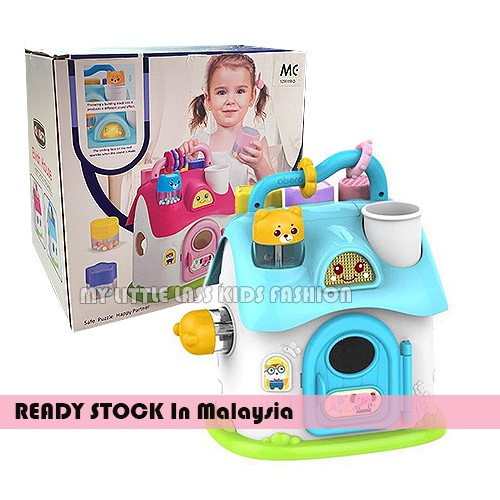 Abero Baby Education Creative Early Learning Shape Shot Baby Toy 1-3y 2 Colors