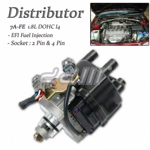Distributor Ignition Toyota Corolla Celica AE102 7A-FE 1 8L DOHC EFI 93-96  4 pin