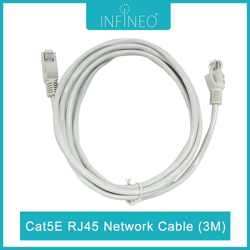 Infineo Network Cable Cat5e RJ45 Ethernet LAN