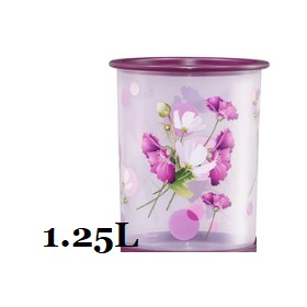 ❤APRIL 2021❤ Tupperware Royale Bloom One Touch Canister Junior  1.25L (1)