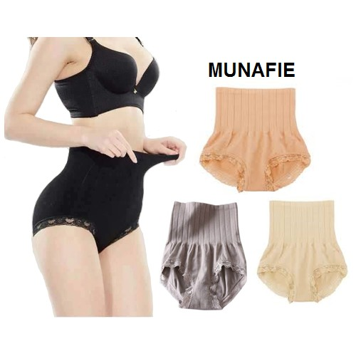 878c8c5391b8c 8x Japan s Munafie High Waist Shaping Panty Seamless Body Belly Shaper