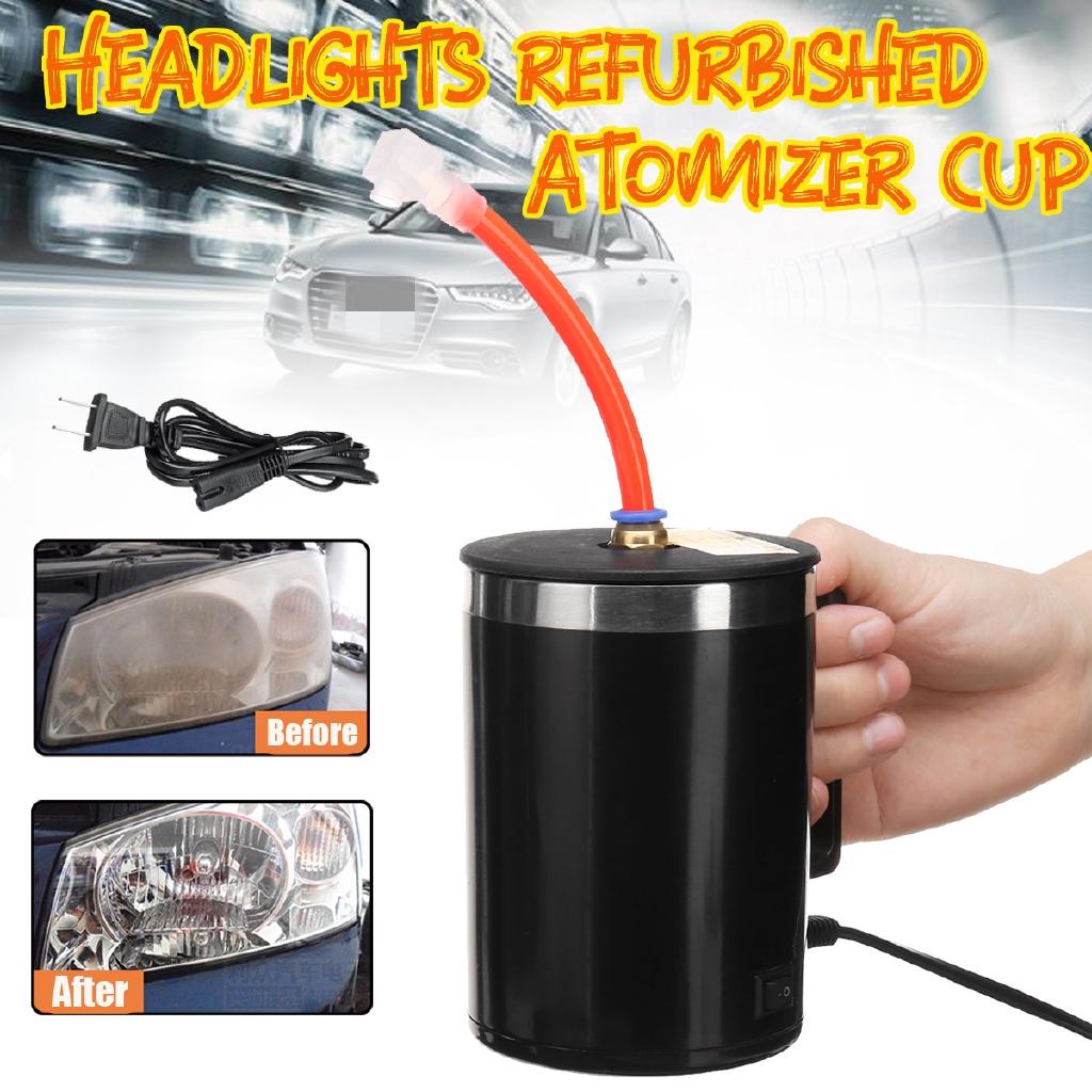 Car Headlight Refurbished Headlamp Repair Headlight Refurbished Atomized cup