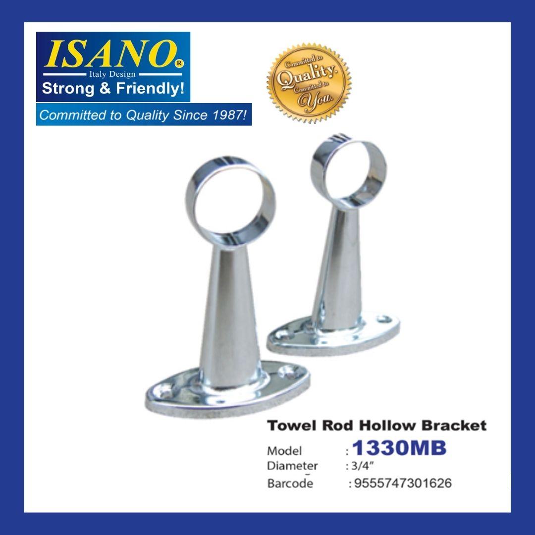 ISANO TOWEL ROD HOLLOW BRACKET 1330MB