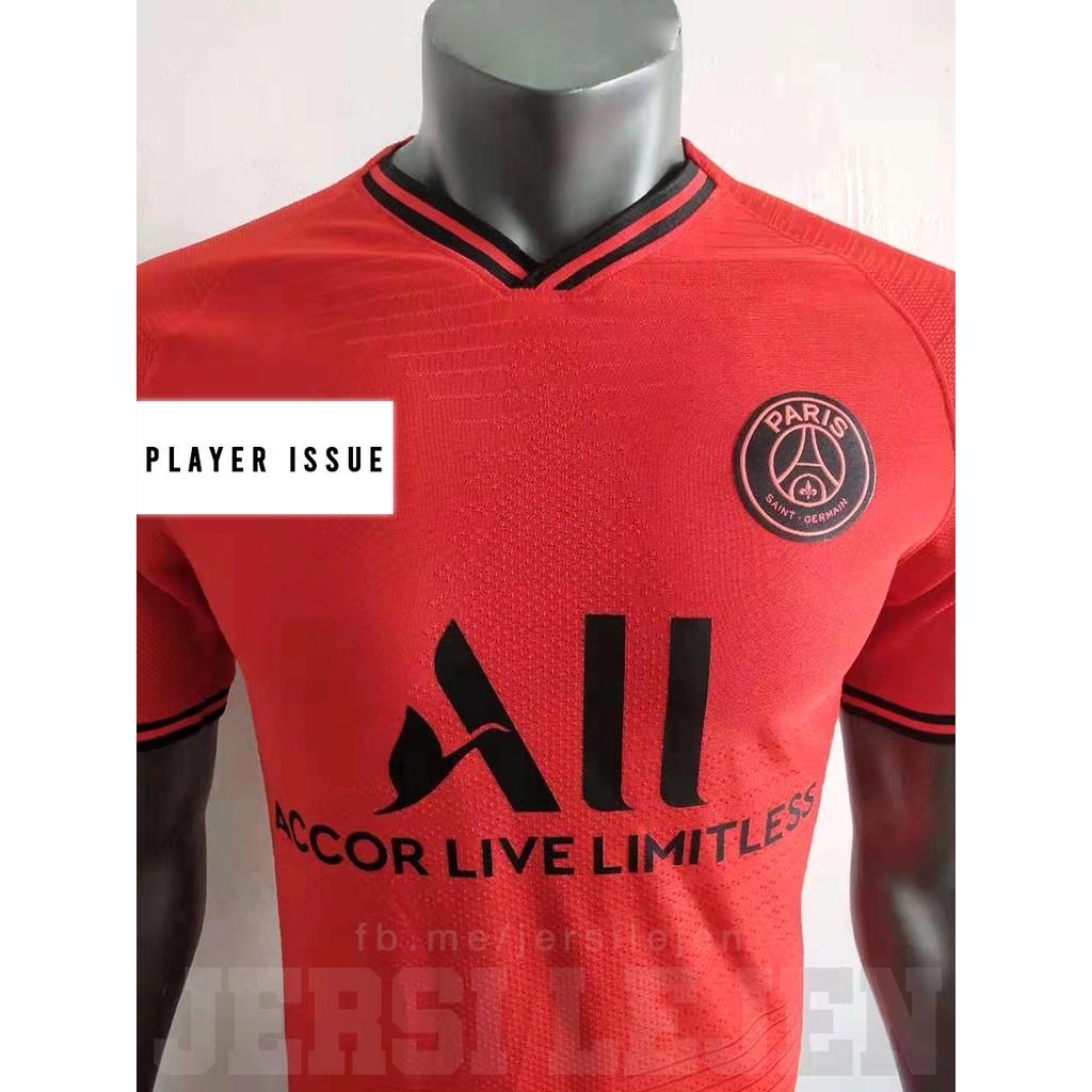 Psg Kit Red Jersey On Sale