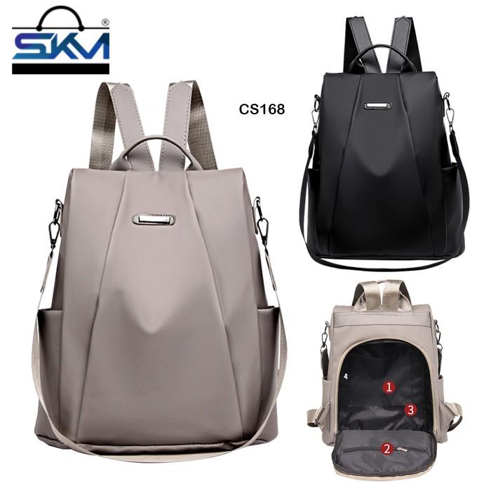 SKM Korean Fashion Anti Theft Travel Student Women Bag Backpack CS168