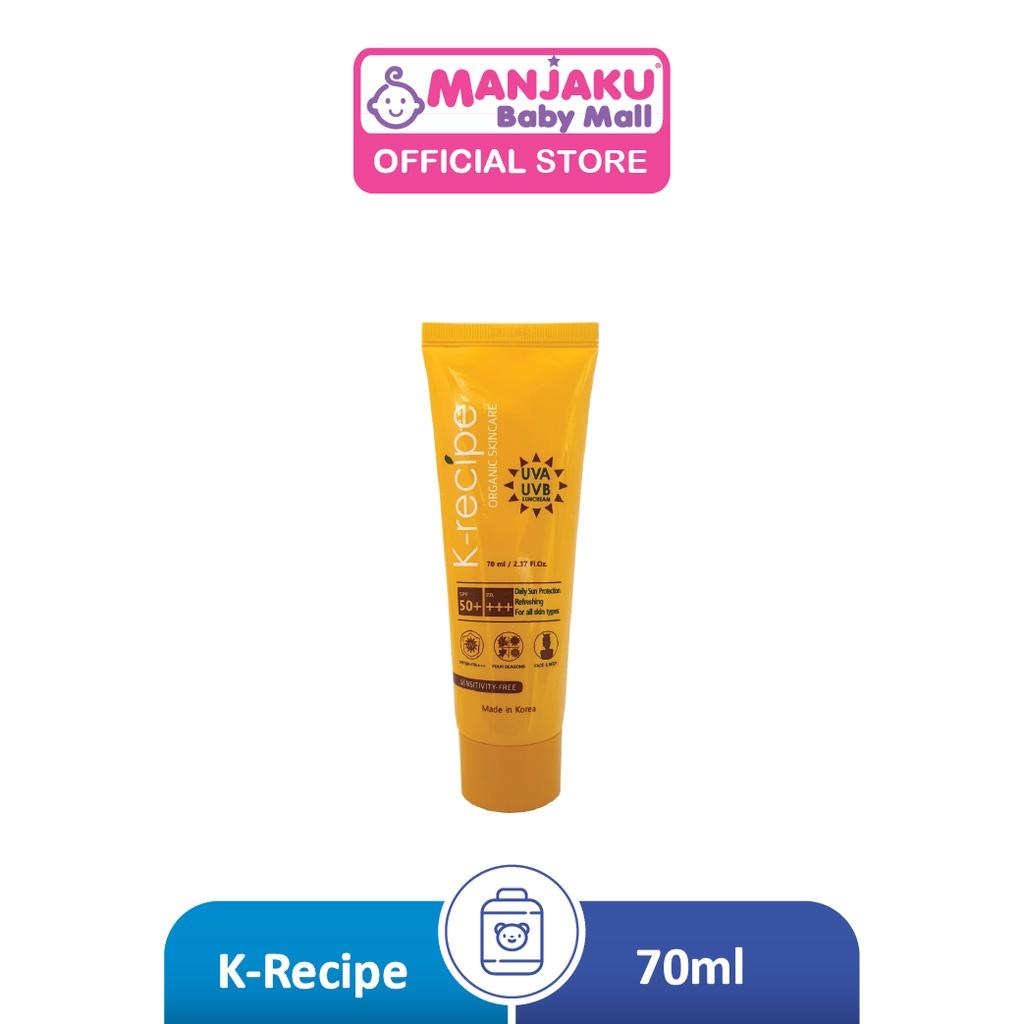 K-Recipe UVA UVB Suncream SPF50+ (70ml)