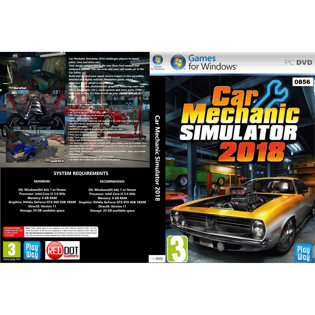 (PC) Car Mechanic Simulator 2018 (RAM DLC Added)