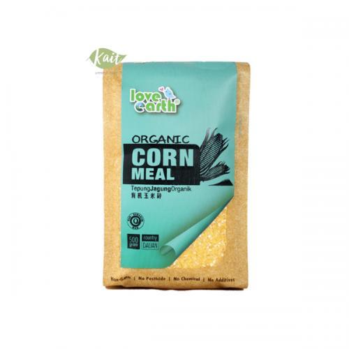 Love Earth Organic Corn Meal 500g