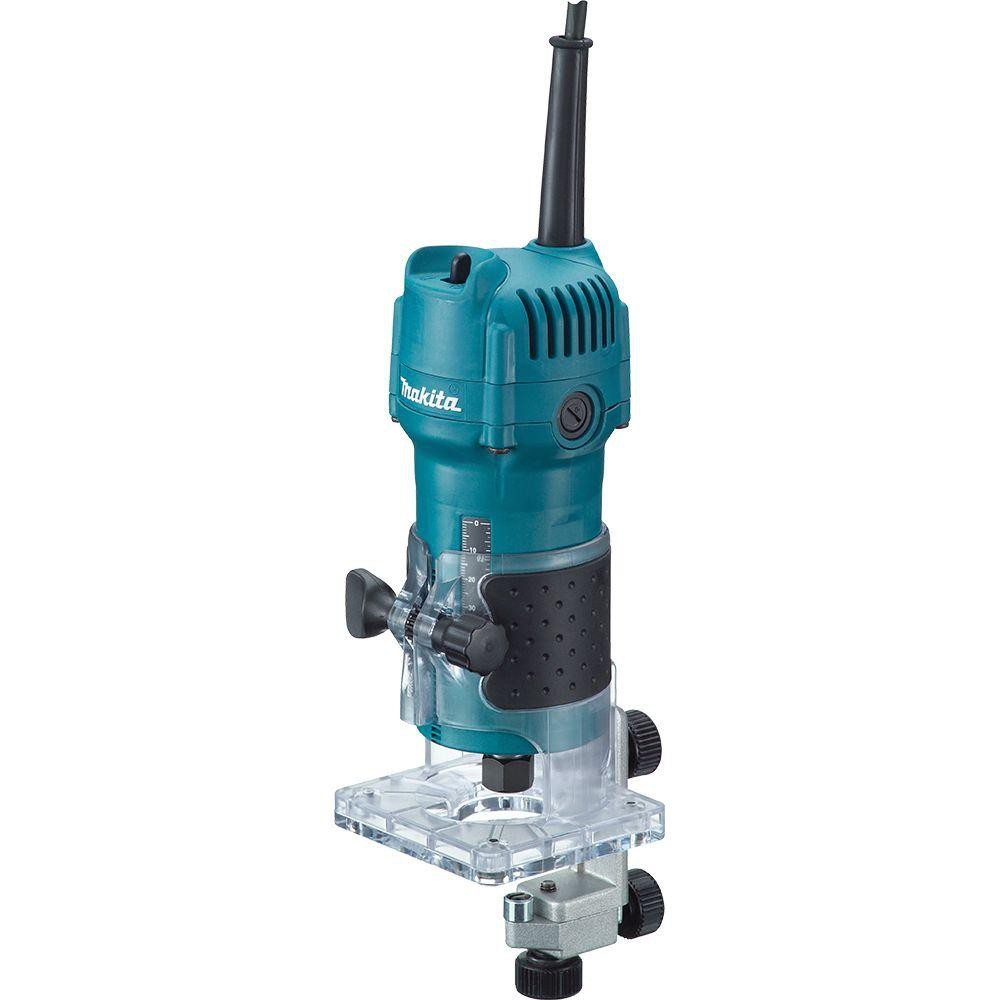 MAKITA 3709 Wood Profile Machine - 6 mm Router Trimmer ...