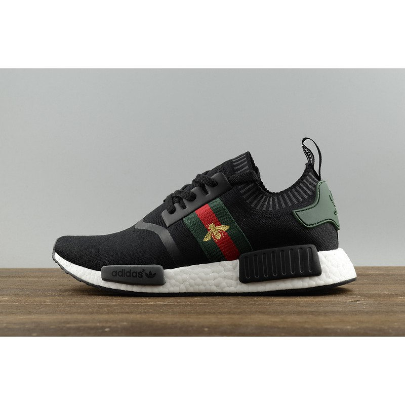 0acef74014829 Ready Stock Adidas NMD R1 X Gucci Bee Men Running Sport Shoes Sneakers  BG1868