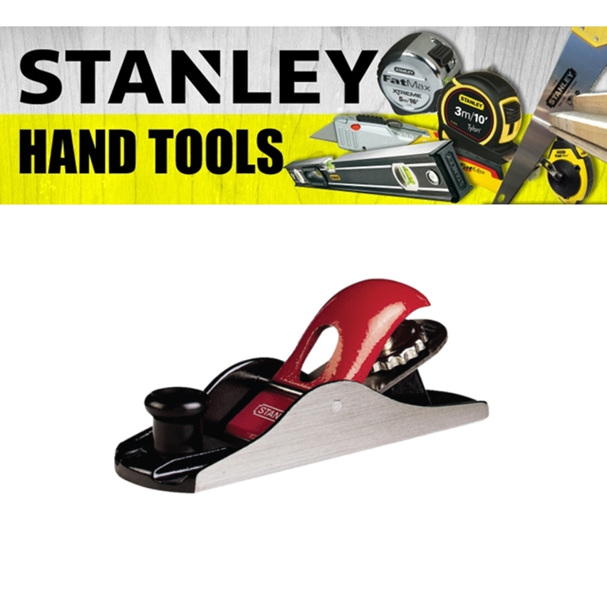STANLEY BLOCK PLANE 12-116-1 PAINTING FINISHING TOOLS 180MM 7'' CUTTER 40MM 1-5/8'' INCH