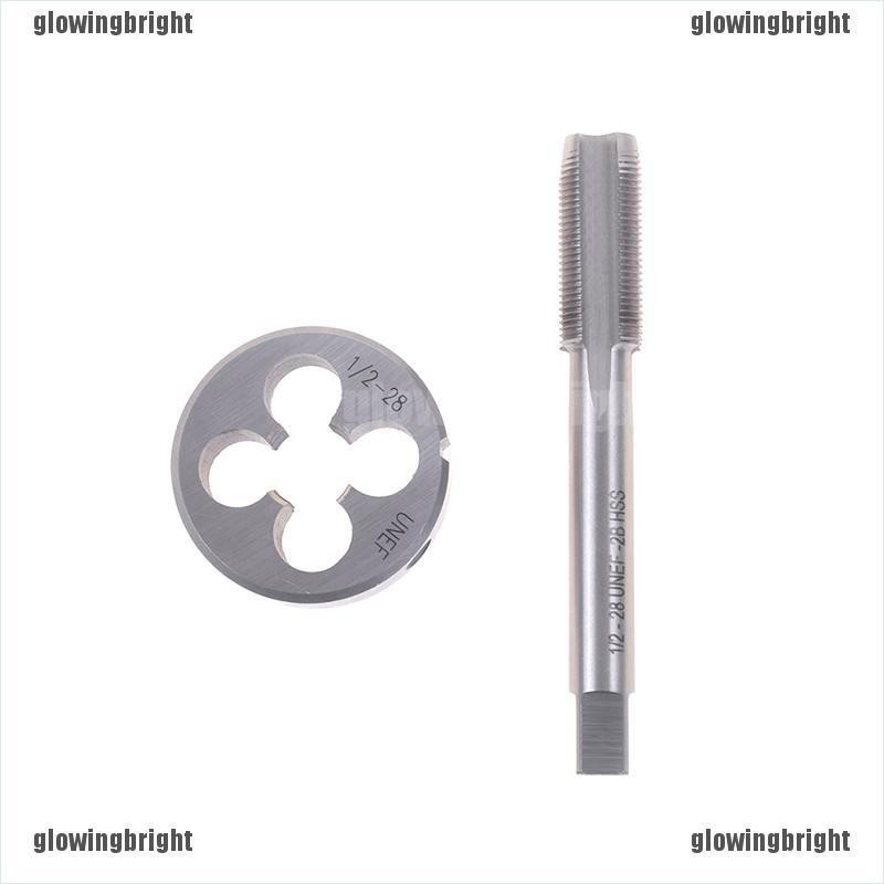 Coated HSS Right Hand Mechanical Tapping  1//2-28 TPI UNEF Tap/&Die Titanium New