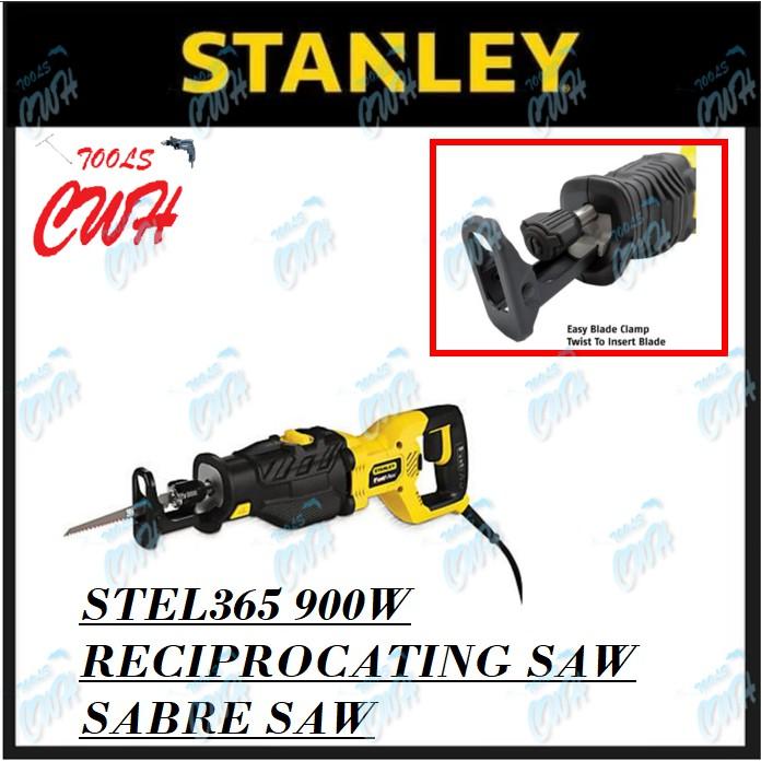 STANLEY STEL365 900W RECIPROCATING SAW SABRE SAW