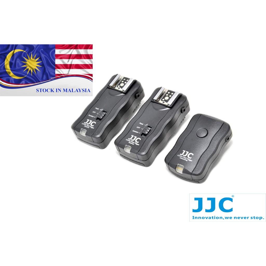 JJC JF-U2 Wireless Remote Control & Flash Trigger Kit (Ready Stock In Malaysia)