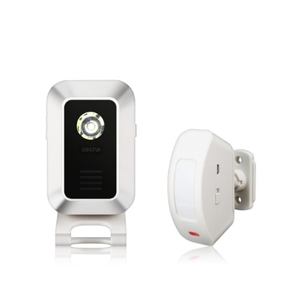 Wireless Guest Welcome Door Bell Music Switch PIR Motion Sensor