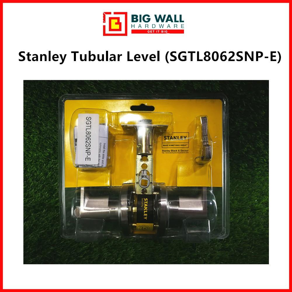 Stanley Tubular Lever Door Handle Set SGTL8062SNP-E (Silver)