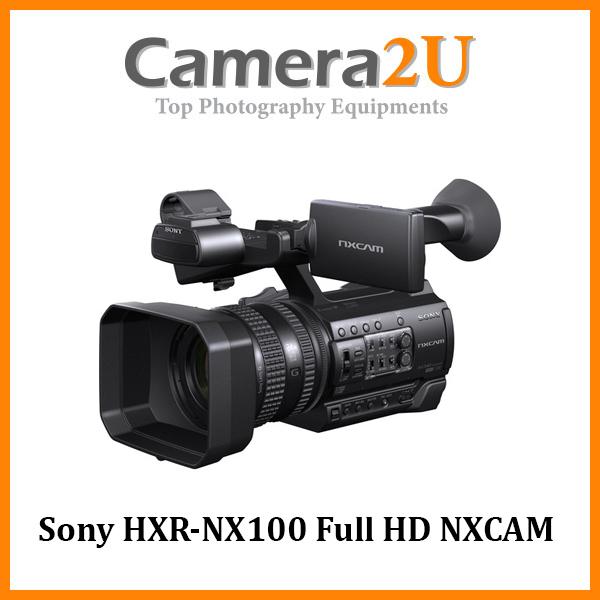 Sony HXR-NX100 Full HD NXCAM Camcorder (Sony MSIA)