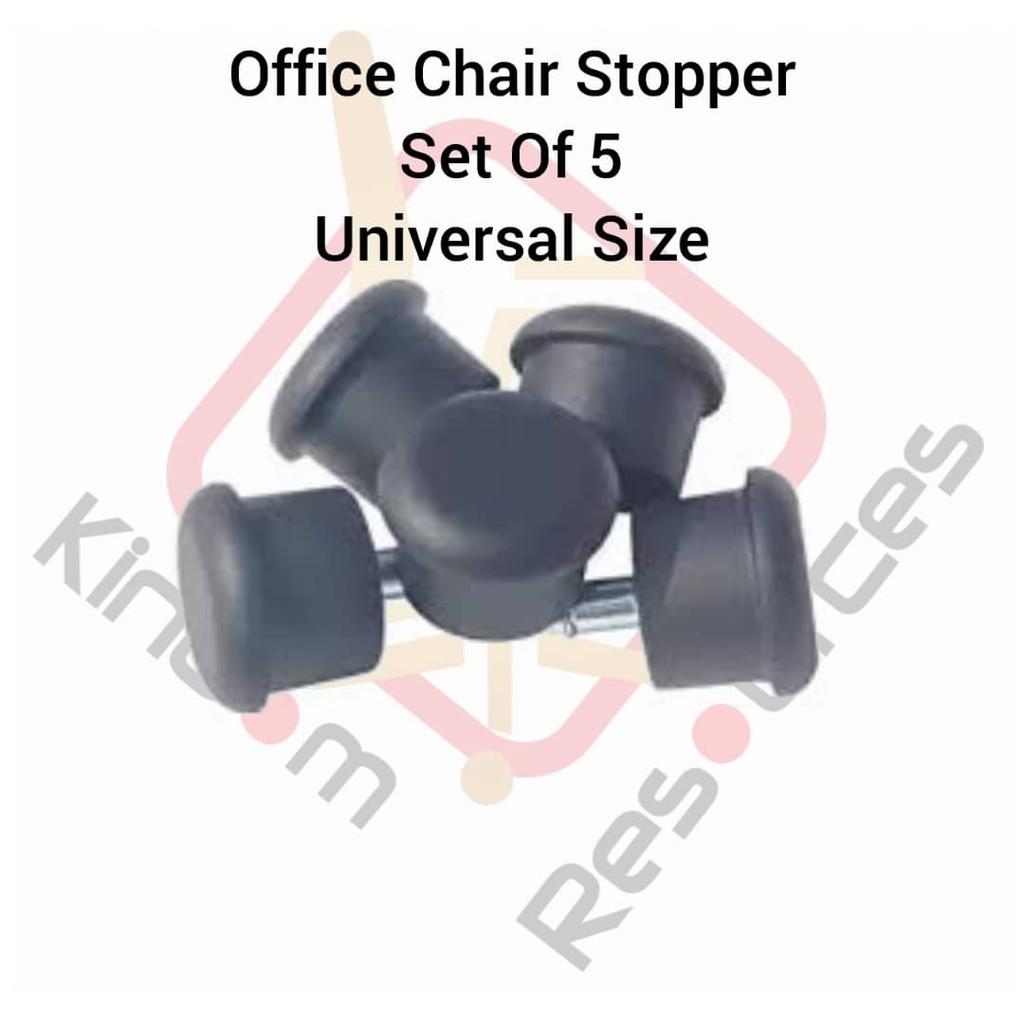 Office Chair Anti Slip Glidder / Office Chair Wheels Replacement / Office Chair / Kerusi Pejabat / Gaming Chair / Chairs