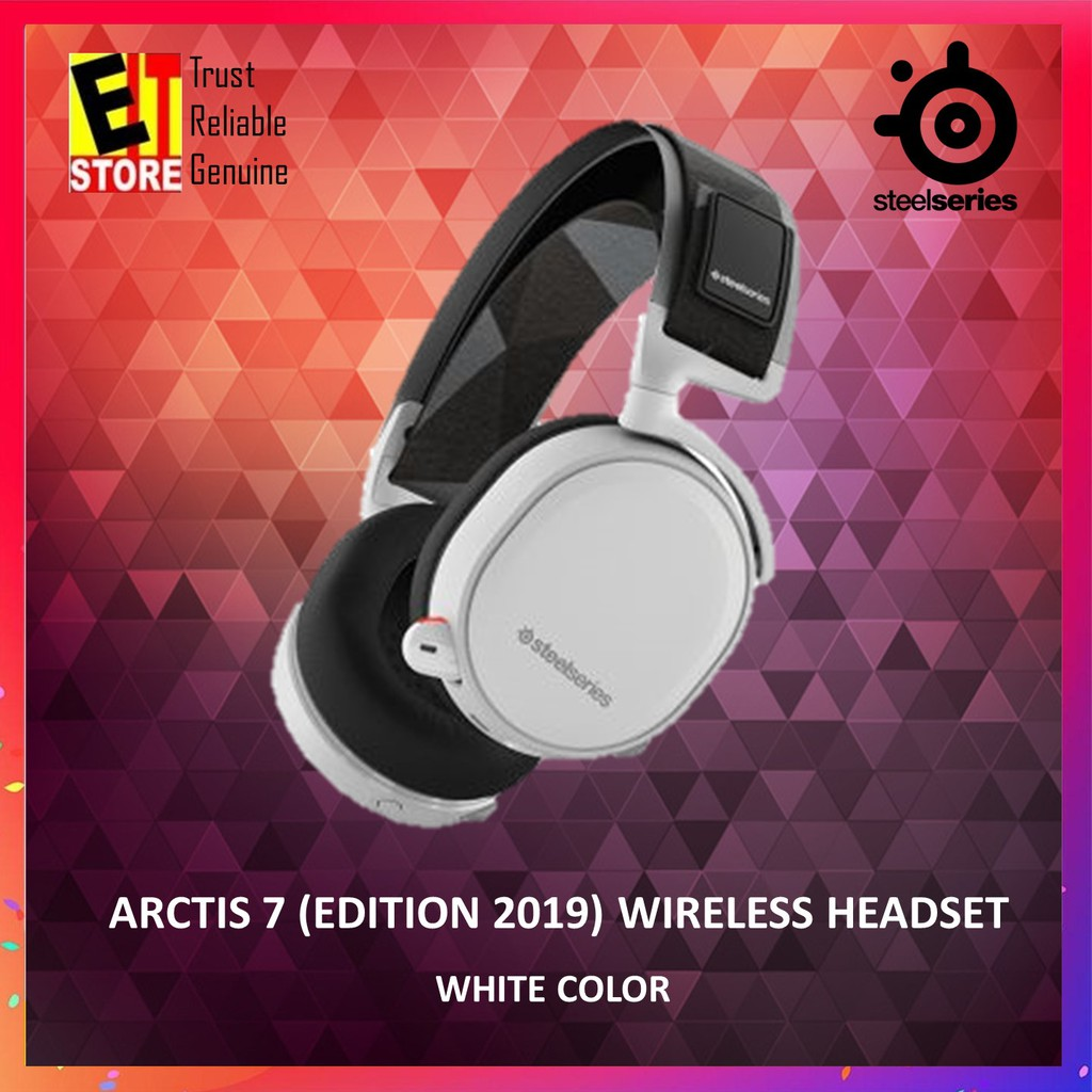 STEELSERIES ARCTIS 7 2019 EDITION WIRELESS GAMING HEADSET -WHITE 61508