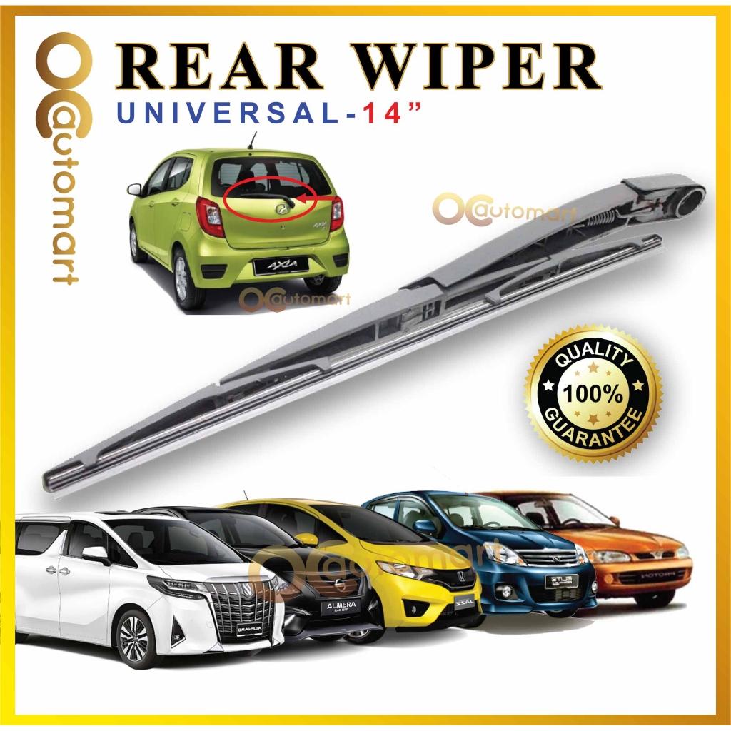 "REAR WINDSCREEN WIPER BLADE UNIVERSAR CAR 14"""