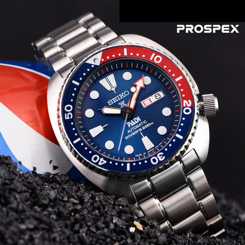 Seiko Watch Divers 200m Samurai Padi Prospex Automatic SRPA21J