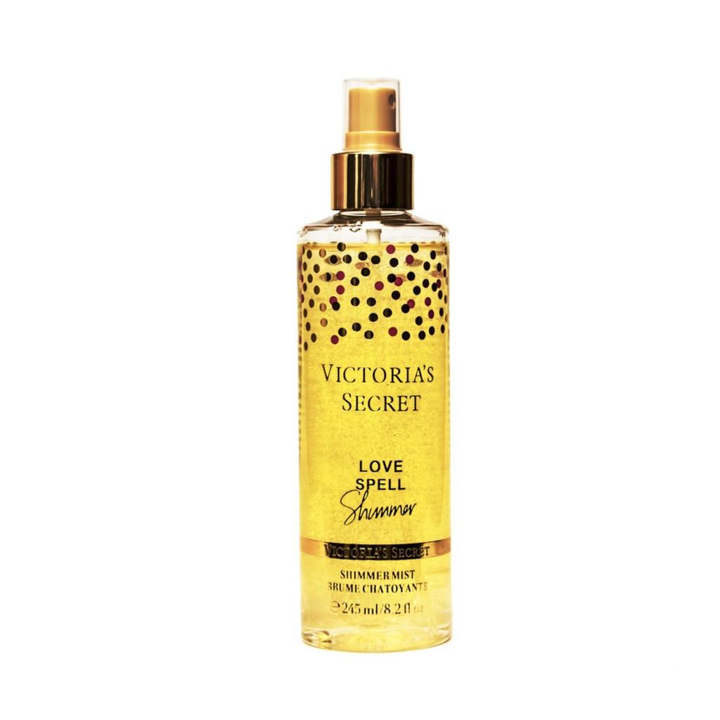 6195574821 VICTORIA S SECRET - Amber Romance Fragrance Body Mist Shimmer 245ml  9171