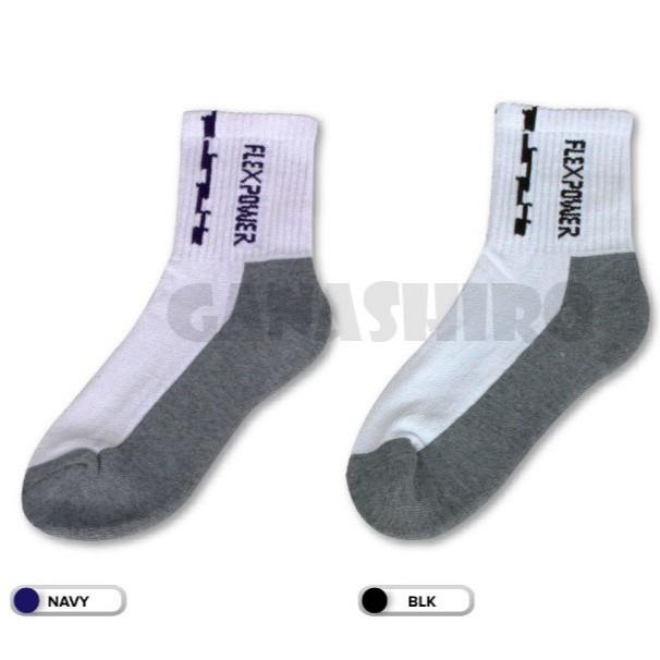 Socks Flex Power Stokin Sport Sock Badminton Netball *READYSTOCK*
