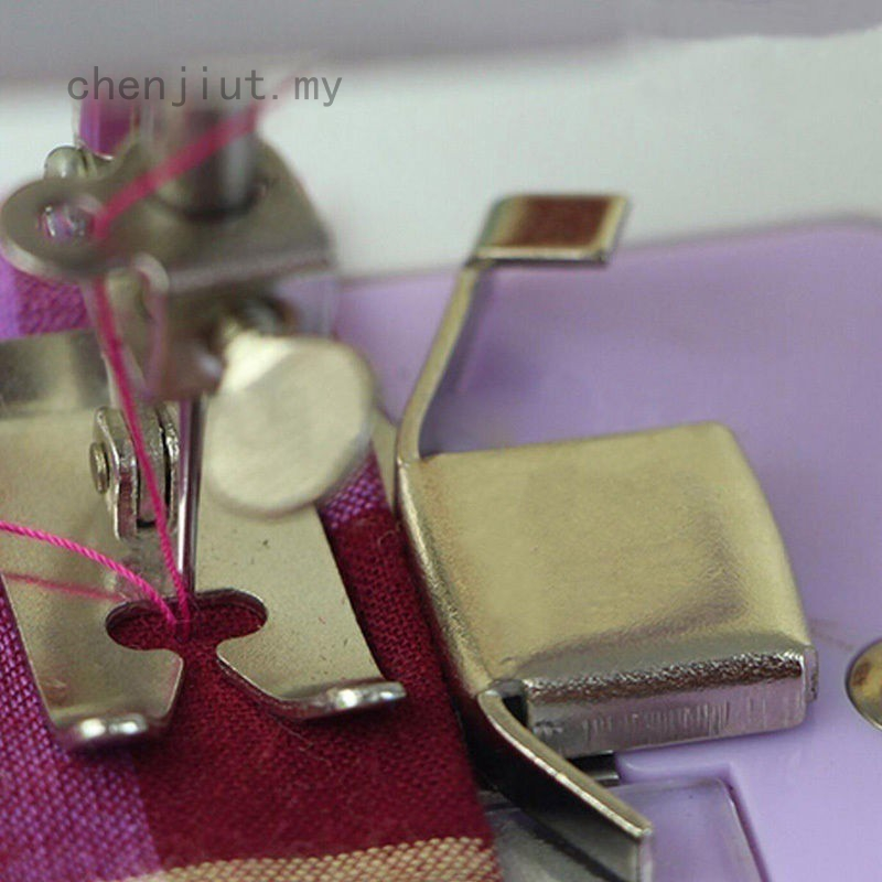 Guide Industrial Metal Edges Machine Foot Magnetic Sewing Domestic Seam