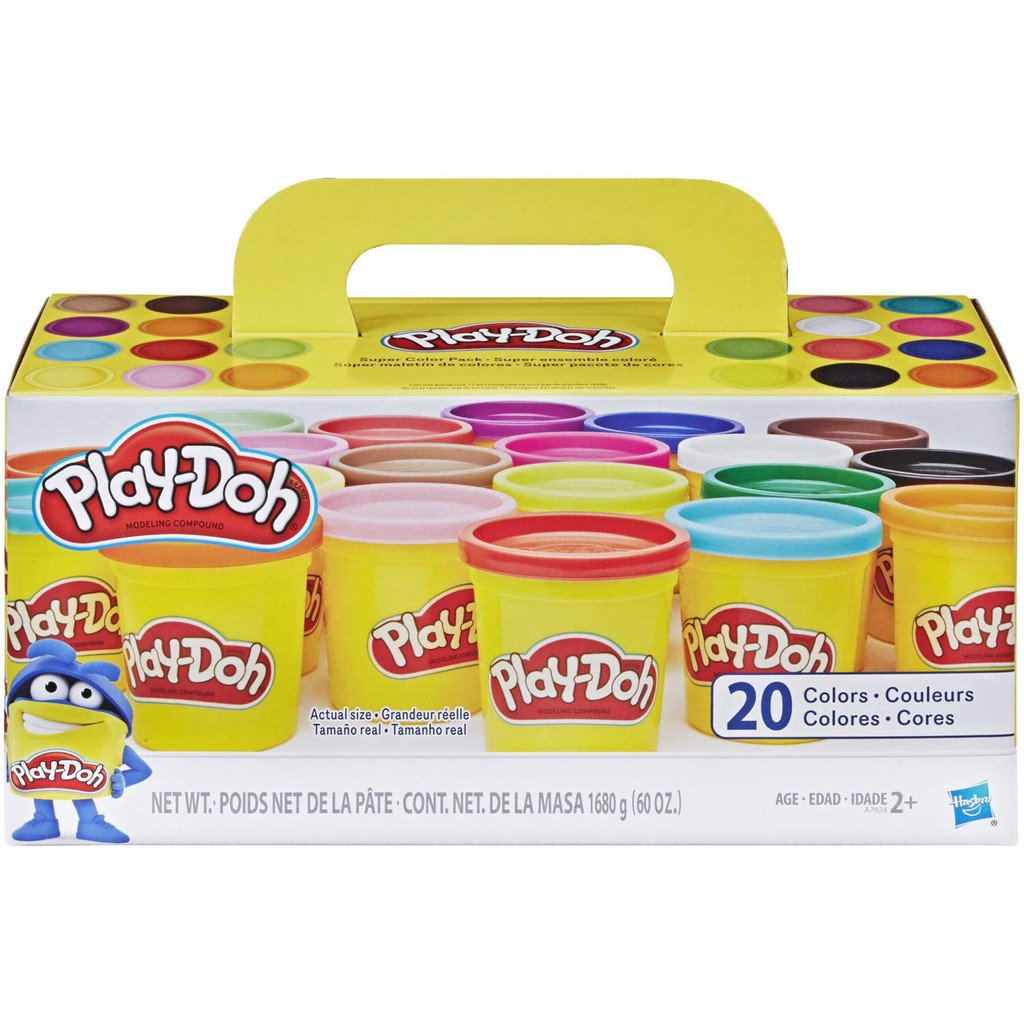 Play-Doh Super Color Pack 20 cans x 3 oz.