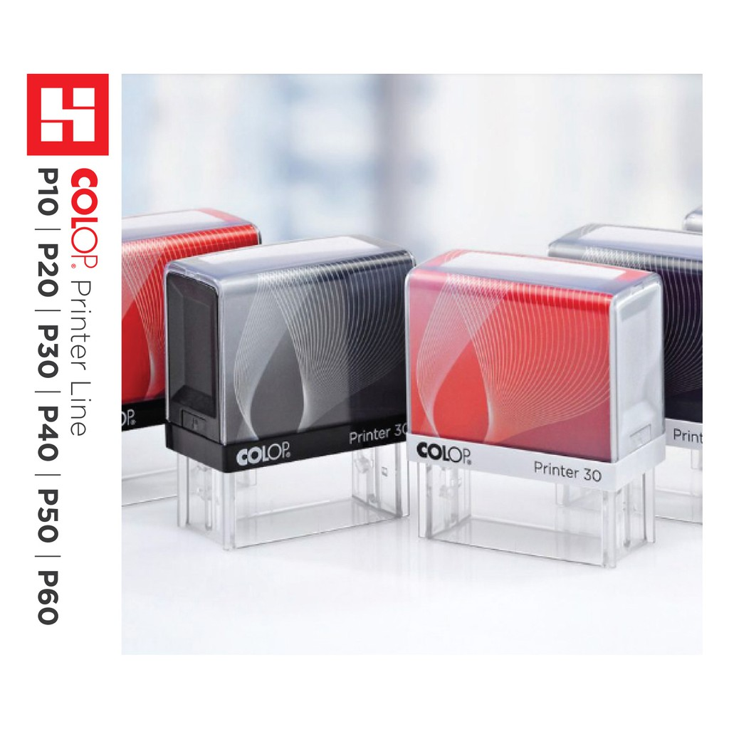 Rubber Stamp COLOP Self-Inking Stamp P10 P20 P30 P40 P50 P60
