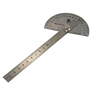 GARVIN Round Head Rotary ANGLE PROTRACTOR Angle Ruler Gauges GAUGE Measuring